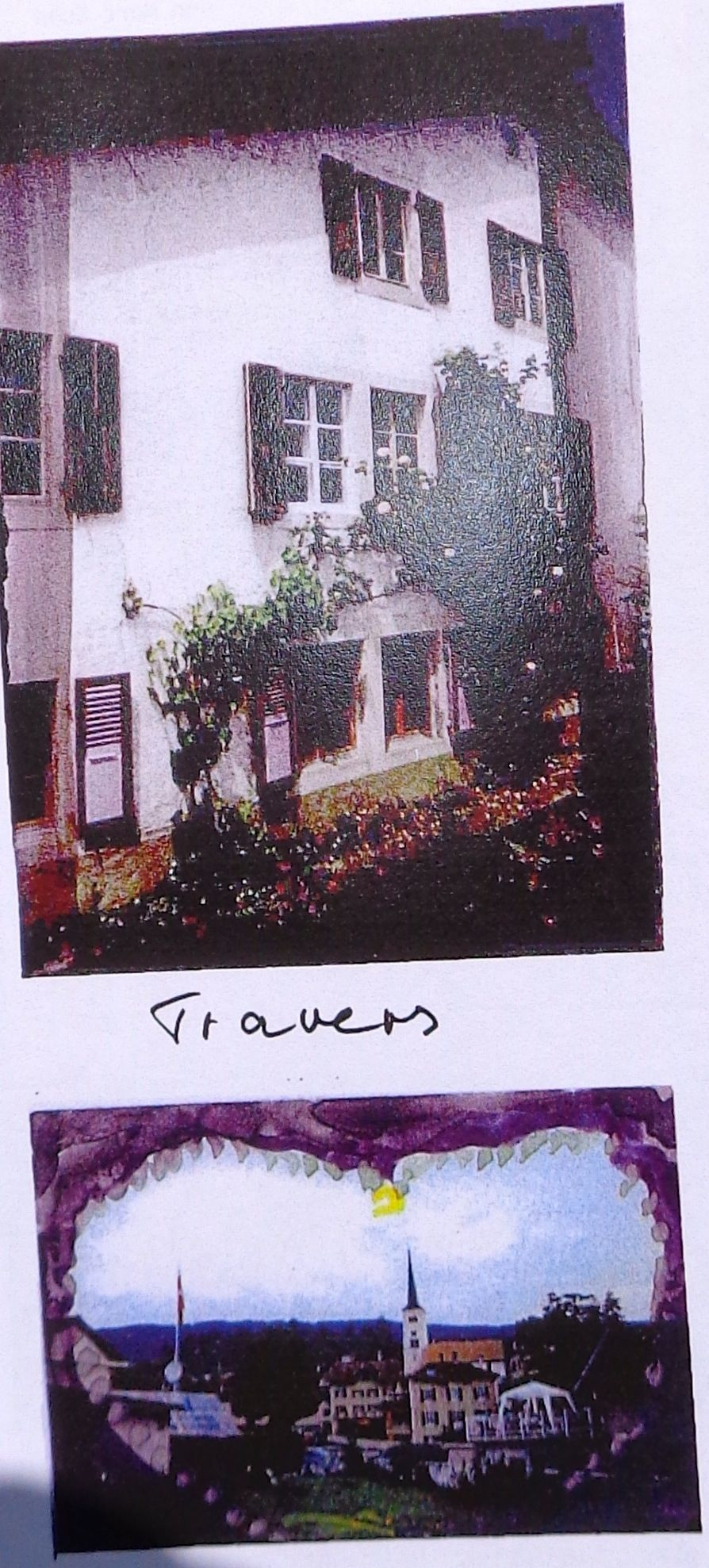 A NEW HOUSE IN TRAVERS 2000
