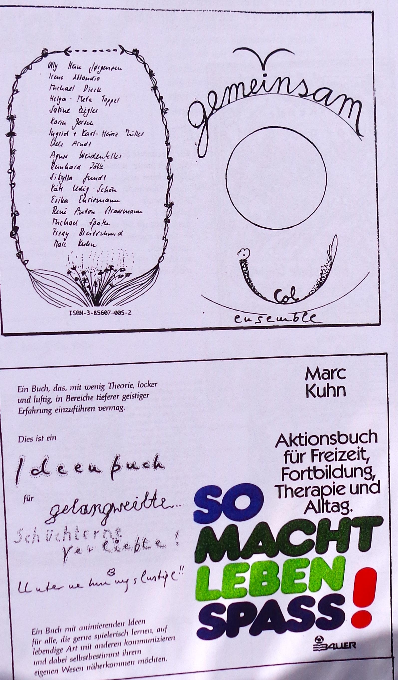Book So macht Leben Spass 1984
